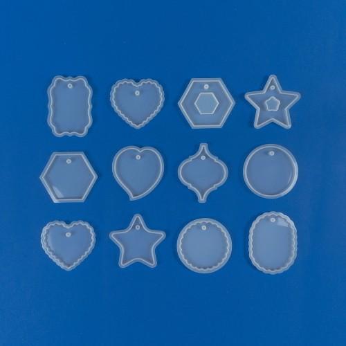 Bijoux Fantasy Pendant Mix Mold | Silicone Molds | Reschimica