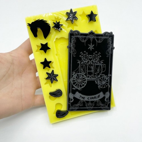 """""""The Chariot"""" Tarot Card 