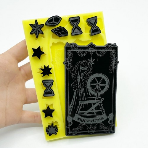 """""""Wheel of Fortune"""" Tarot Card 