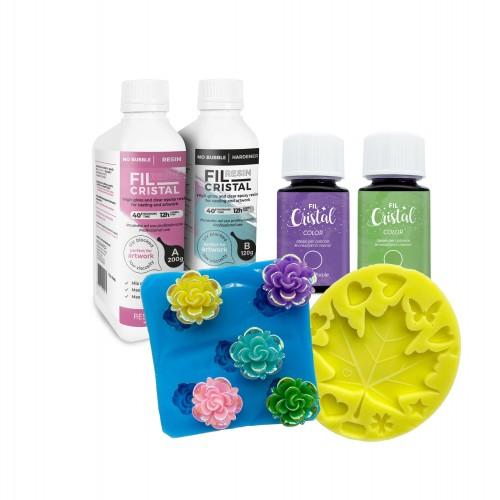 Flower Summer Box to make resin flowers