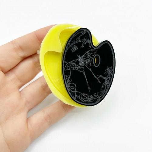 Stampo Tavolozza Luna Moth Small | Stampi in Silicone | Reschimica
