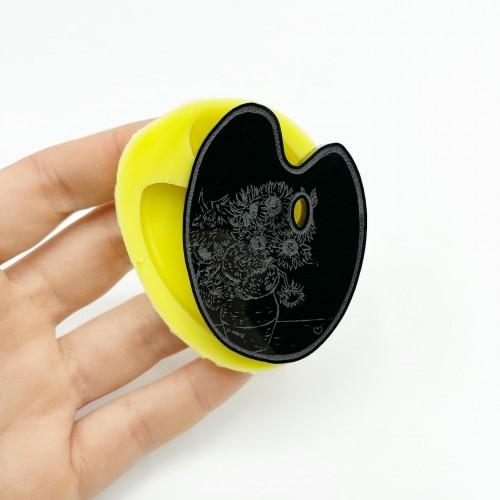 Stampo Tavolozza Girasoli di Van Gogh Small | Stampi in Silicone | Reschimica