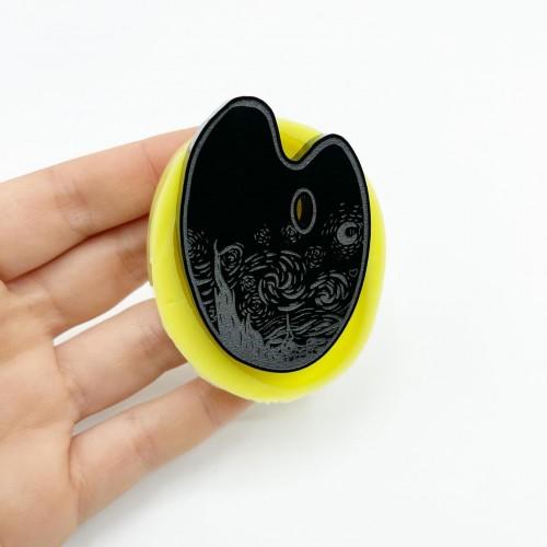 Stampo Tavolozza Notte Stellata di Van Gogh Small | Stampi in Silicone | Reschimica