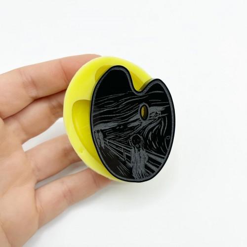 Stampo Tavolozza L'Urlo di Munch Small | Stampi in Silicone | Reschimica