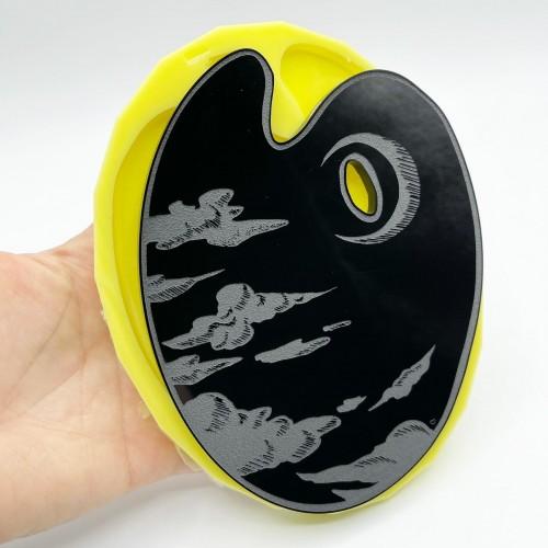 Stampo Tavolozza Luna Large | Stampi in Silicone | Reschimica