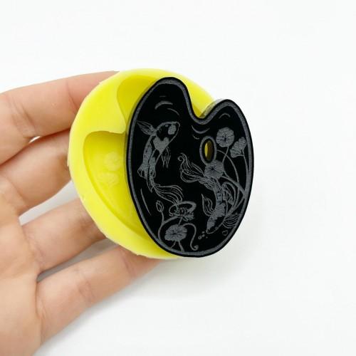 Stampo Tavolozza Carpe Koi Small | Stampi in Silicone | Reschimica