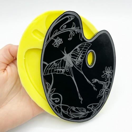 Stampo Tavolozza Luna Moth Large | Stampi in Silicone | Reschimica