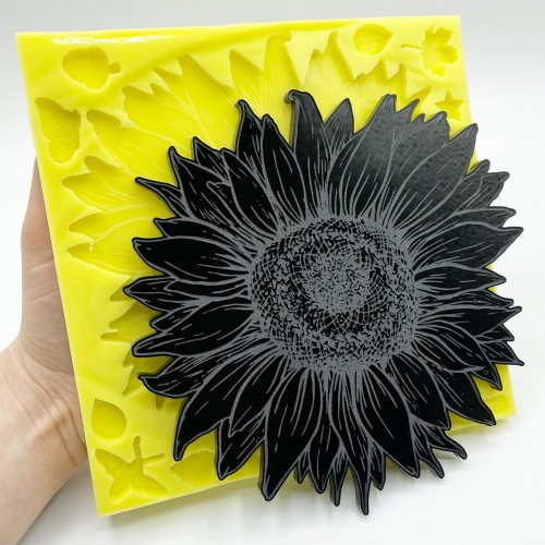 Sunflower Mold Large| Silicone Molds | Reschimica