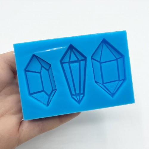 3 Shapes Multilayer Crystal Mold| Silicone Molds | Reschimica