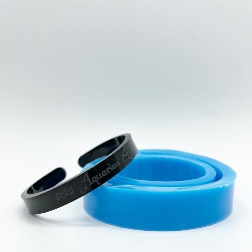 Aquarius Zodiac Bracelet Mold| Silicone Molds | Reschimica