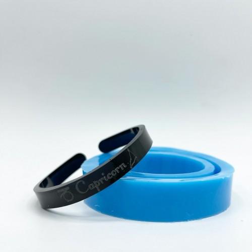Capricorn Zodiac Bracelet Mold| Silicone Molds | Reschimica