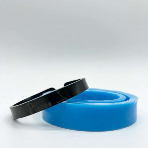 Pisces Zodiac Bracelet Mold| Silicone Molds | Reschimica