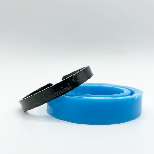 Gemini Zodiac Bracelet Mold| Silicone Molds | Reschimica