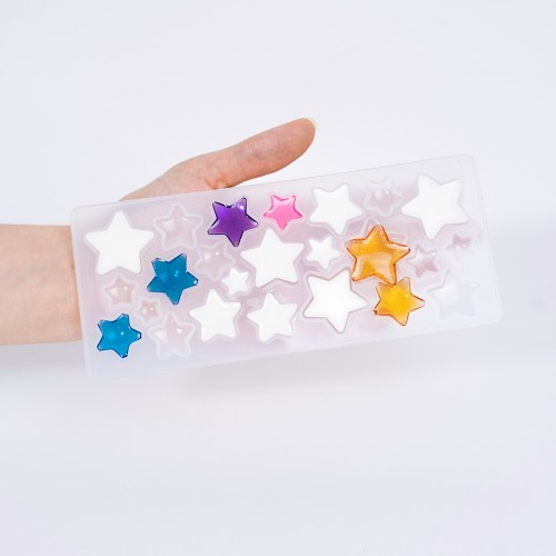 Never Ending Star Multi Shapes Mold| Silicone Molds | Reschimica