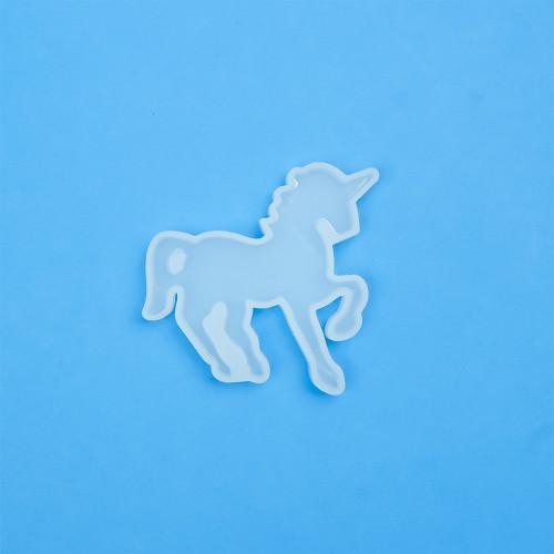 Stampi silicone morbido per realizzare fantastici Unicorni. Perfetto con resina epossidica.