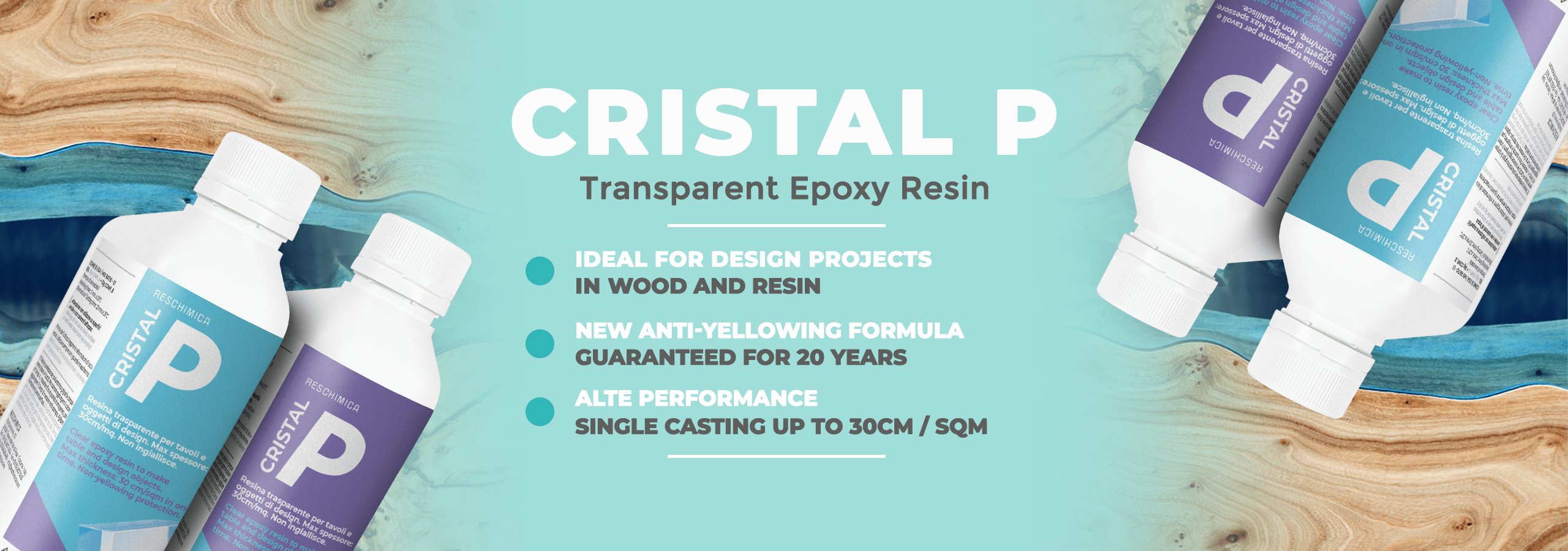 reschimica epoxy and polyurethane resins  cristal p